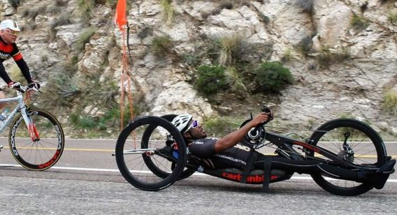 Anthony Lue hand cyclist paralympian hopeful spinal cord injury rehabilitation Propel Physiotherapy