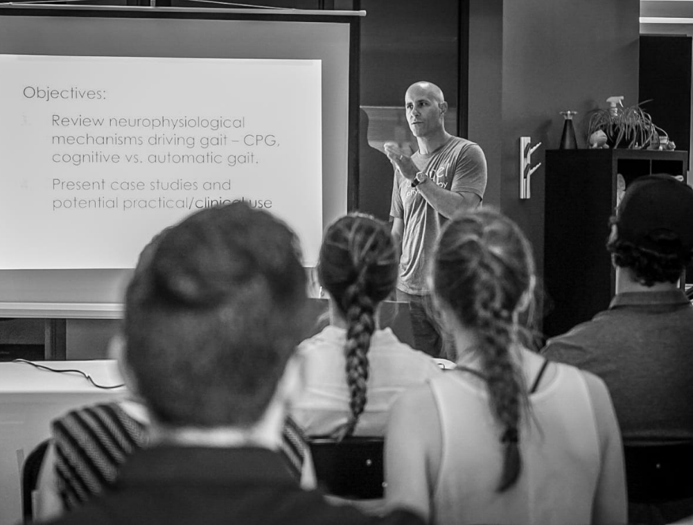 Kyle Whaley Physiotherapist Propel Physiotherapy Etobicoke Physiotherapy Pickering Clinic Instructing Student Physios