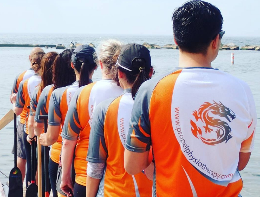 Propel Physiotherapy Dragon Boat Racing