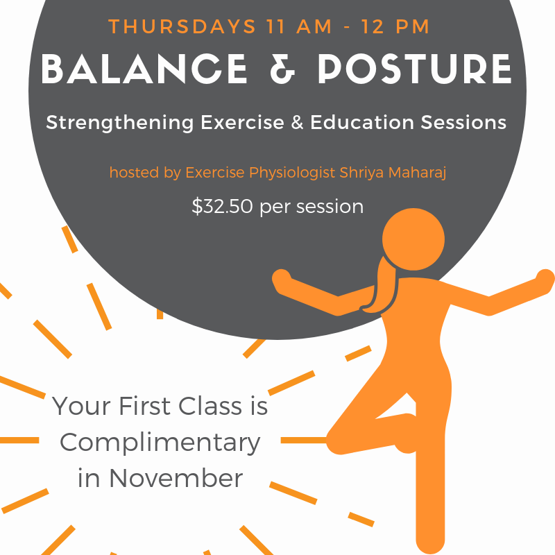 Balance & Posture Complimentary Session Propel Physiotherapy