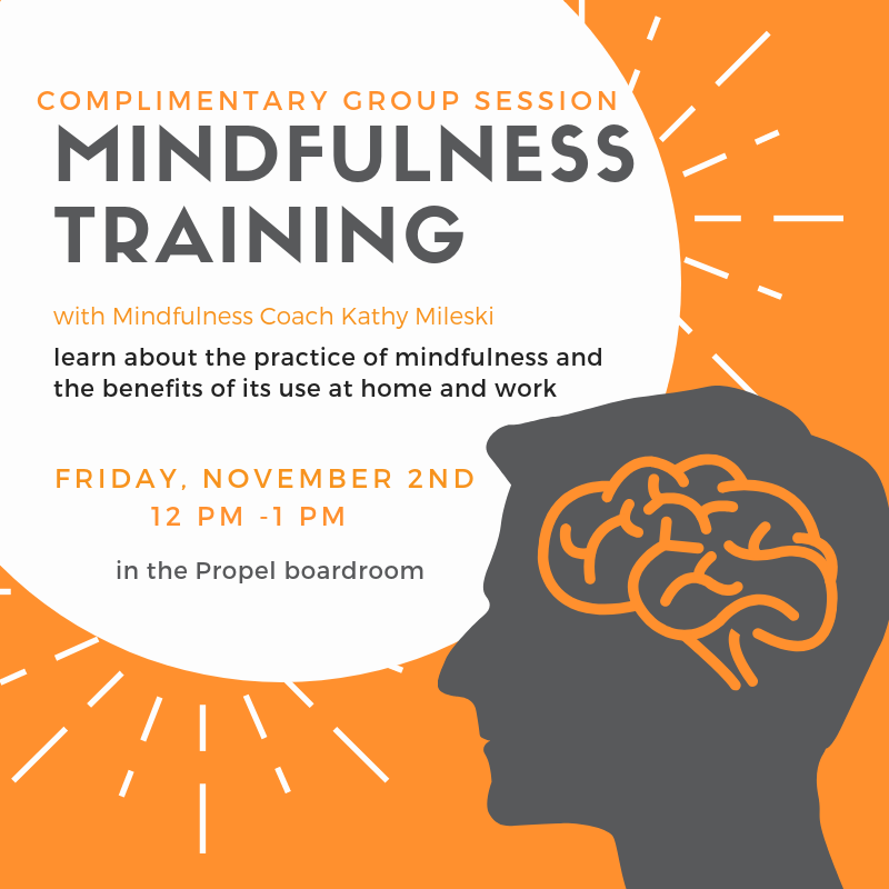 Mindfulness Training Complimentary Session Propel Physiotherapy