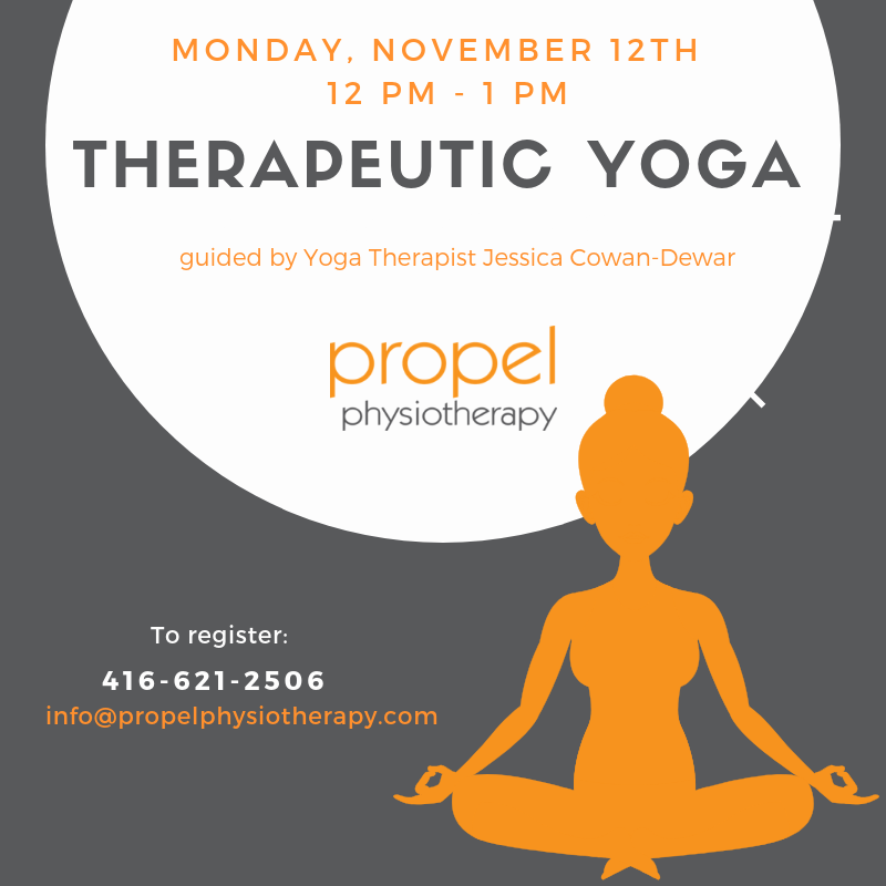 Therapeutic Yoga Complimentary Session Propel Physiotherapy