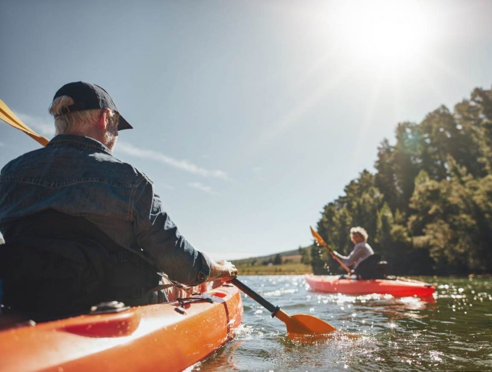 Healthy Active Living People Kayaking Propel Physiotherapy Toronto