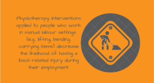 preventative physiotherapy