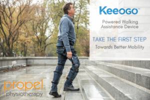 Keeogo walking assistant device toronto propel physiotherapy