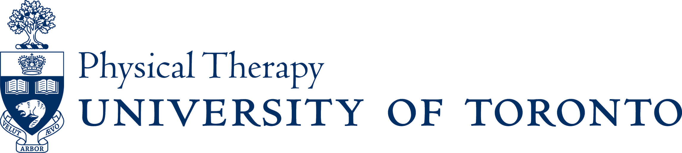 University of Toronto Physical Therapy logo