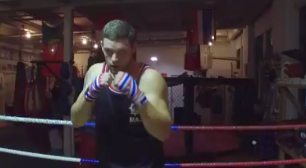 Athlete sponsorship Chad Hunt mixed martial artist Propel Physiotherapy