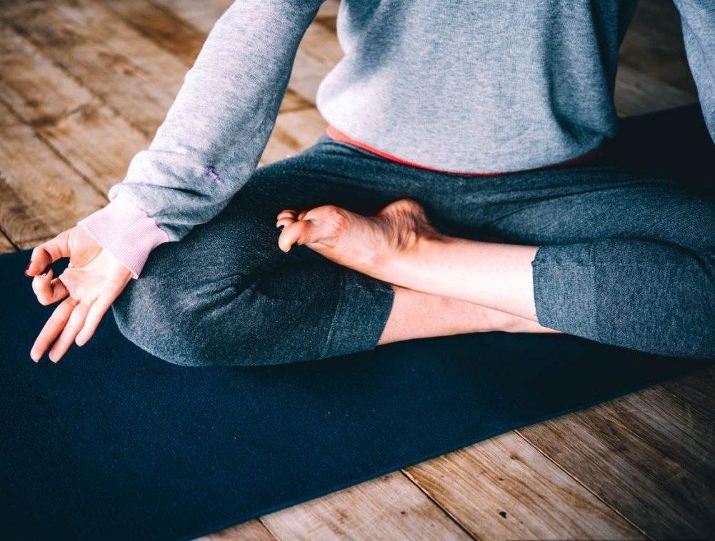 Alana Holz Physiotherapist Propel Physiotherapy Pickering Etobicoke Doing Yoga