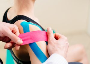 Sports taping sports physiotherapy Propel Physiotherapy Toronto
