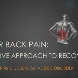 Lower back pain case study cover