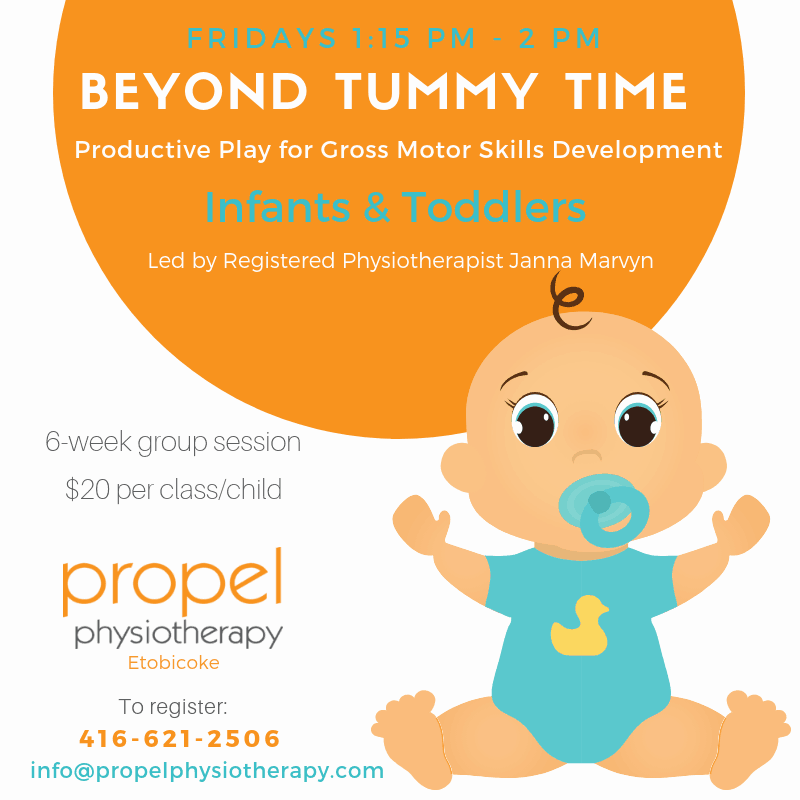 Beyond Tummy Time Group Physiotherapy for Kids with Special Needs Propel Physiotherapy Etobicoke