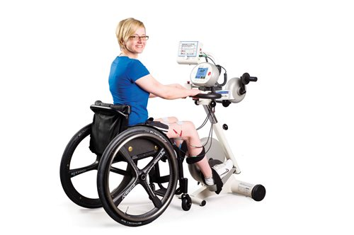 Functional Electrical Stimulation FES Cycling Spinal Cord Injury Rehabiliation Propel Physiotherapy Etobicoke and Pickering