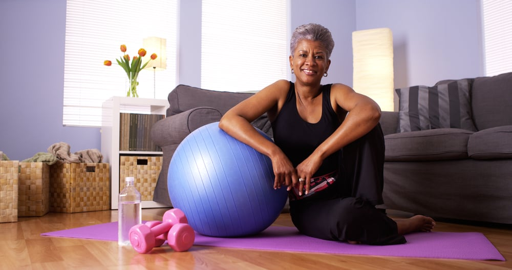 woman exercising decrease the risk of osteoporosis propel physiotherapy toronto