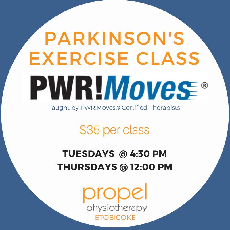 PWR!Moves Parkinson's Exercise Group Classes Etobicoke