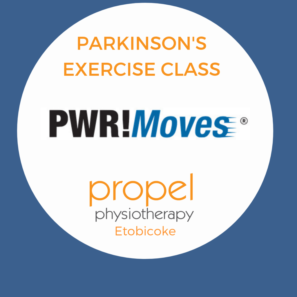 PWR!Moves Parkinson's Disease Specific Group Exercise Class information