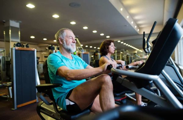 recumbent bikes accessible gym equipment Propel Physiotherapy Pickering