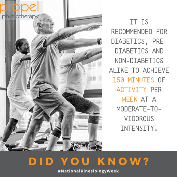 Exercise also helps to regulate insulin levels and prevent diabetes