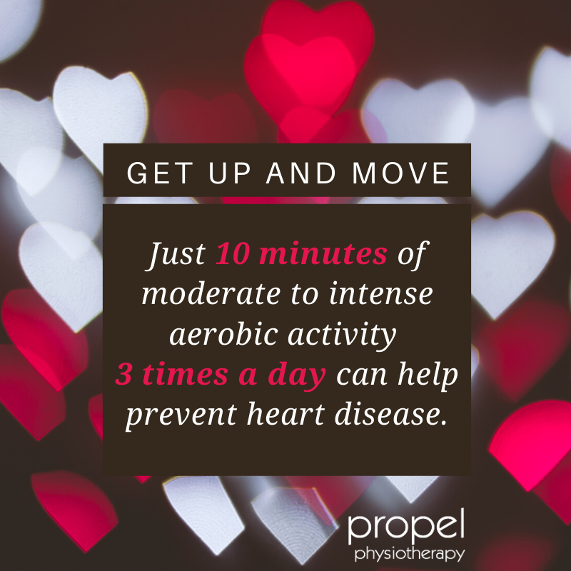 get up and move to help prevent heart disease