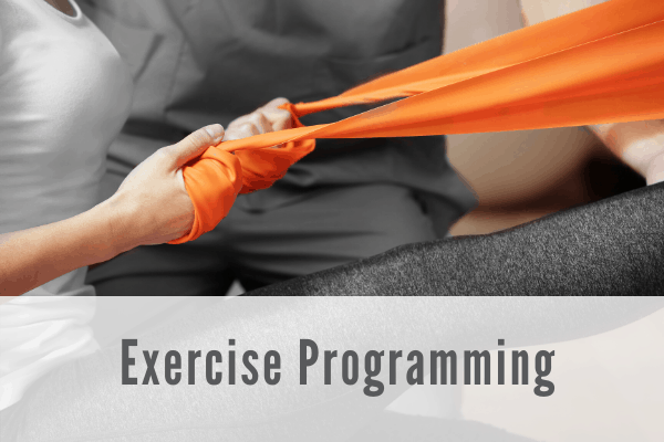 exercise programming Propel Physiotherapy