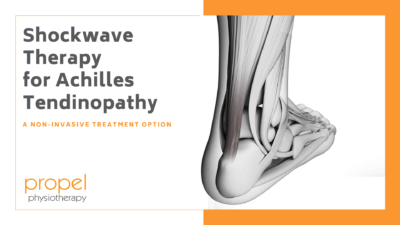 shockwave therapy for achilles tendinopathy blog header