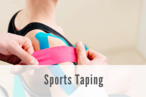 sports taping Propel Physiotherapy