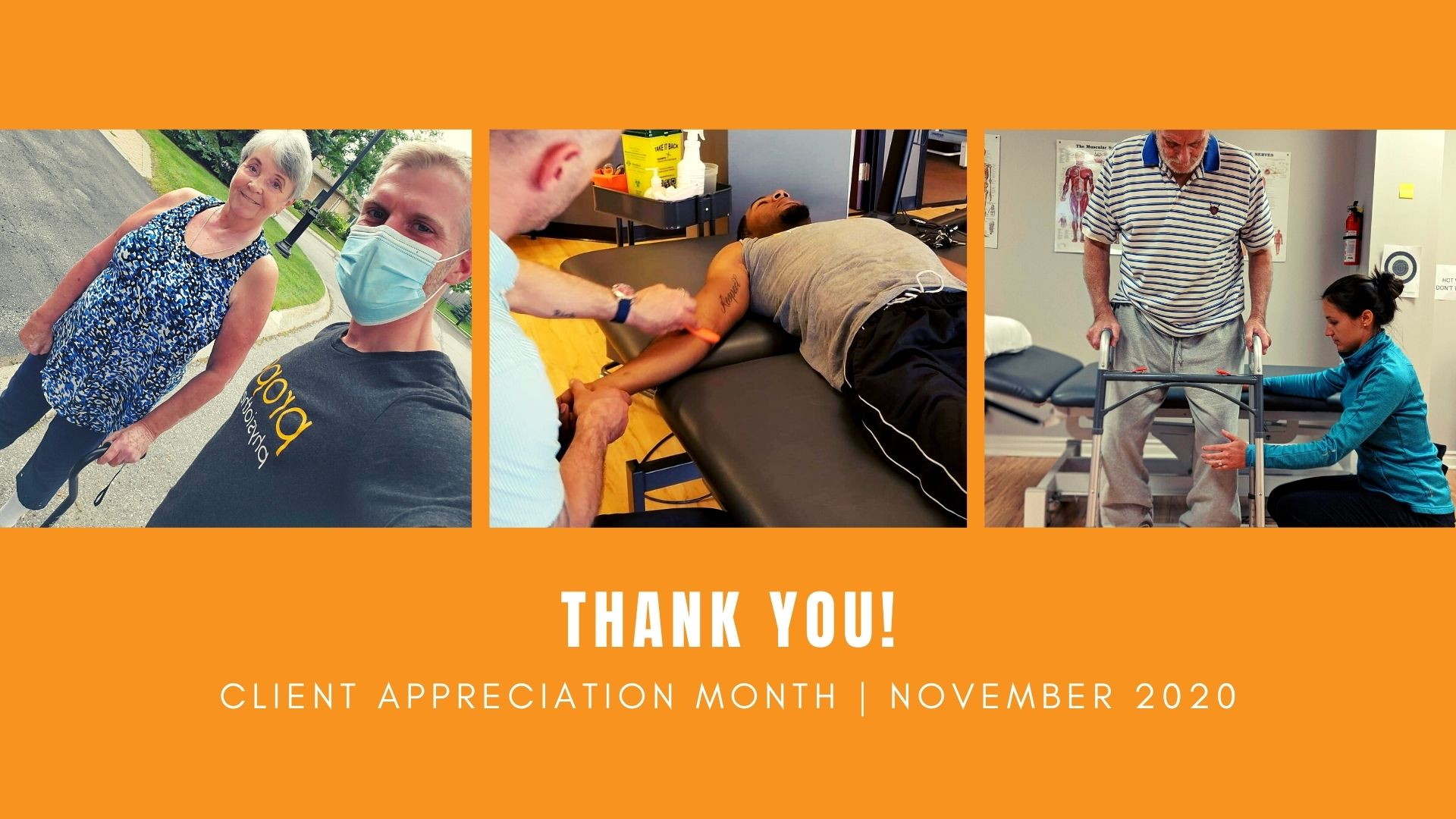 client appreciation month 2020 propel physiotherapy