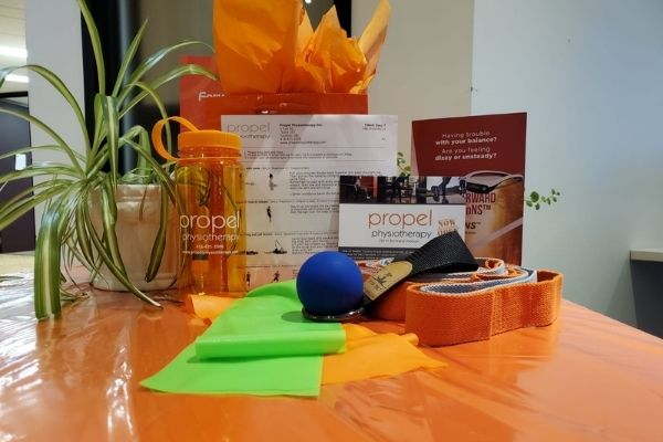 get fit kit healthy holiday gift ideas Propel Physiotherapy