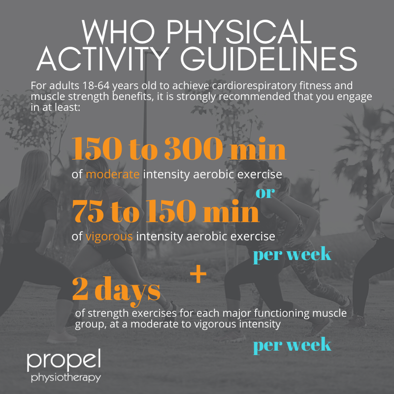 WHO Physical Activity Guidelines and Sedentary Behaviour