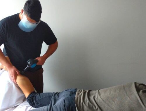 Percussive Therapy Combined with Massage Therapy