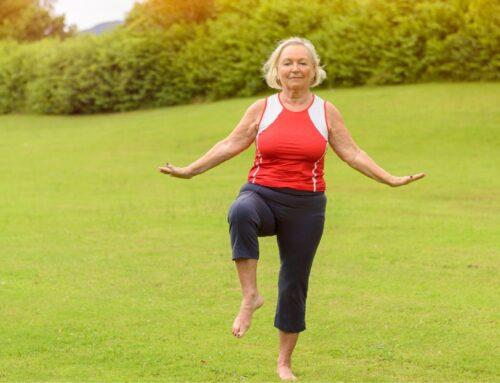 Balance Training & Core Exercises for Seniors