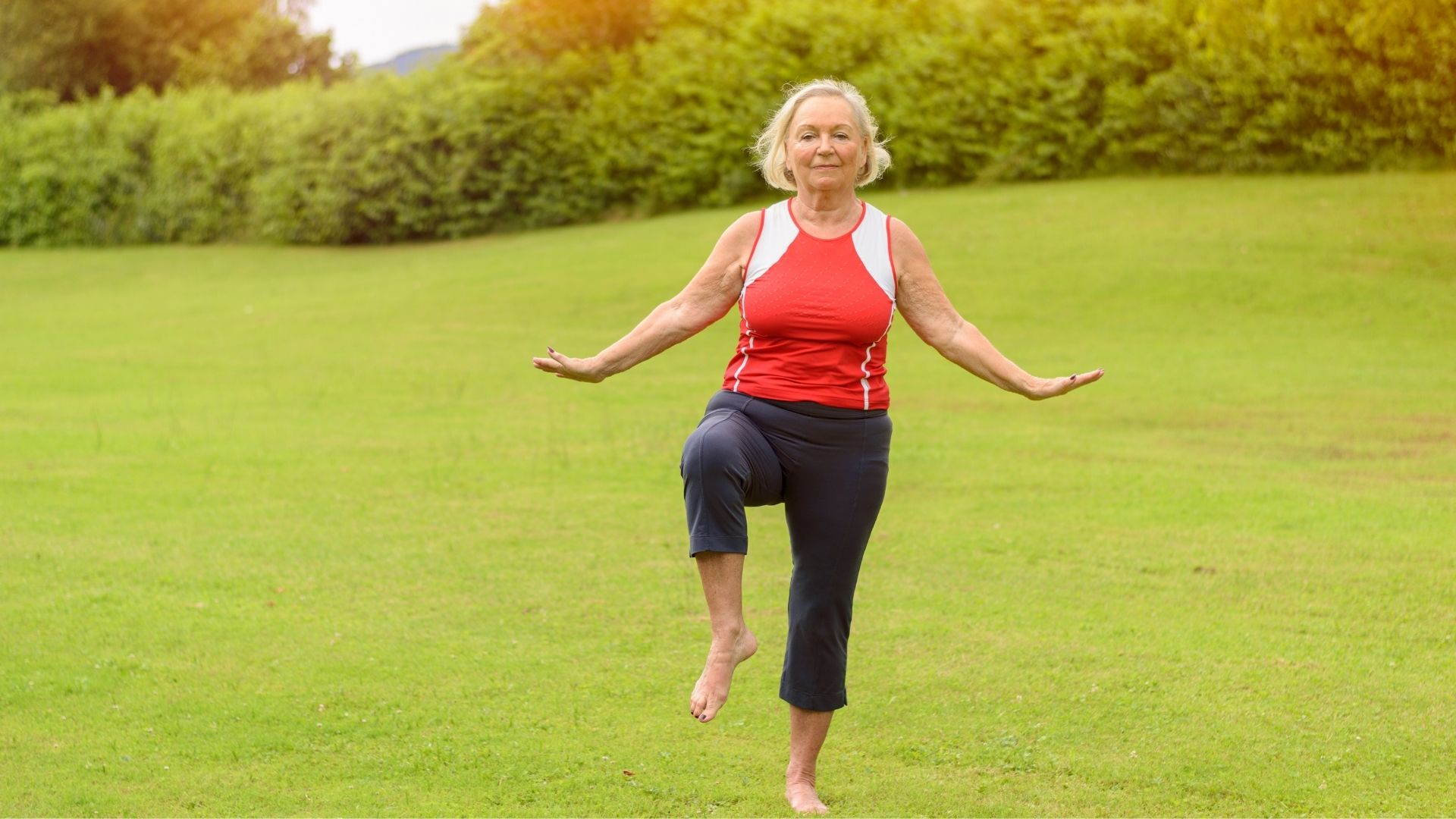 balance training and core exercises for seniors Propel Physiotherapy