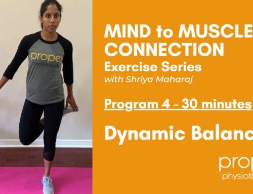 Dynamic Balance Exercise Program for Brain Injury Recovery